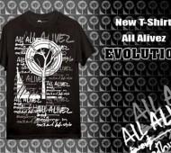 allalivez EVOLUTION T-shirt