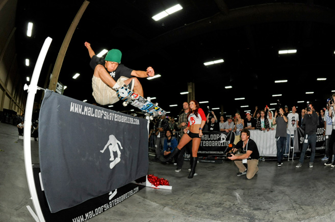 Aldrin Garcia High Ollie World Record at 45.00 inches (114.3 cm)