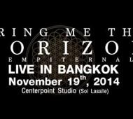BRING ME THE HORIZON LIVE IN BANGKOK 2014