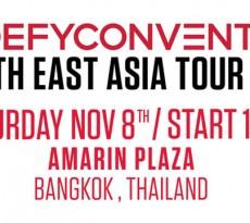 DC DEFYCONVENTION TOUR 2014