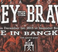Obey The Brave live in Bangkok 2015