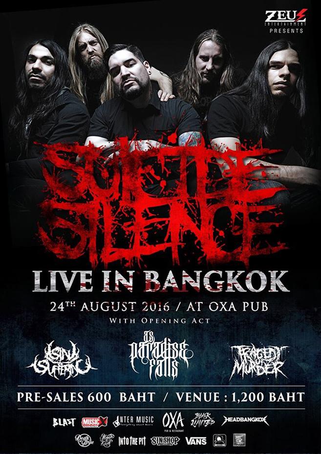 Suicide Silence Episode #3 Live in Bangkok