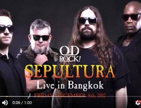 SEPULTURA LIVE IN BANGKOK