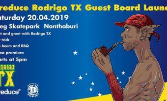 Preduce Rodrigo TX Guest Board Launch